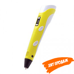 3D ручка «3Dali Plus Yellow» (желтая)