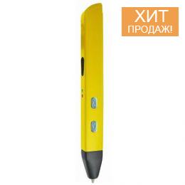 3D ручка «SPIDER PEN SLIM Yellow» (желтая)