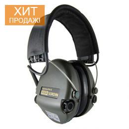 Активные наушники «MSA Sordin Supreme Pro-X Black» - 100% оригинал, пр-во Швеция, сертифицированы!