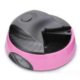 Автоматическая кормушка для кошек и мелких пород собак «Feed-Ex PF1 Pink»