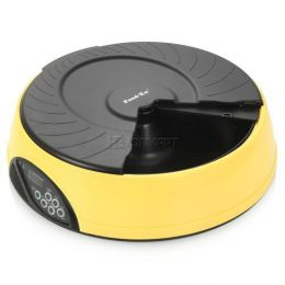 Автоматическая кормушка-миска для кошек и собак «Feed-Ex PF2 Yellow»