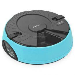 Электронная кормушка-миска для кошек и собак «Feed-Ex PF6 Blue»