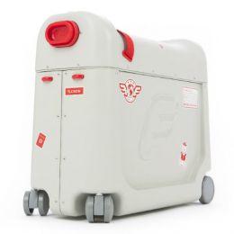 Детский чемодан-кроватка для путешествий «JetKids BedBox» (красный)