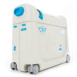 Детский чемодан-кроватка для путешествий «JetKids BedBox» (синий)