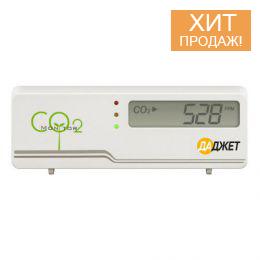 Детектор-монитор CO2 «Мастер Кит MT8057S» - бытовой датчик концентрации углекислого газа со звуковым оповещением
