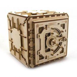 Деревянный 3D пазл-конструктор «UGears Сейф»