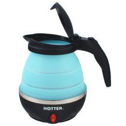 Дорожный складной электрический чайник «Hotter HX-010» (синий)