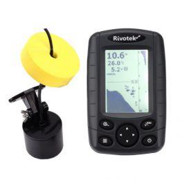 Двухлучевой эхолот «Rivotek Fisher 20 Dual» для летней и зимней рыбалки