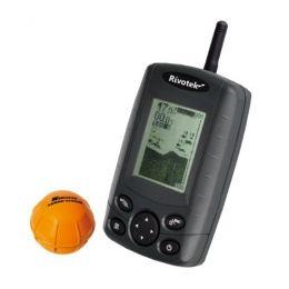 Беспроводной эхолот «Rivotek Fisher 30 Wireless Sonar» для рыбалки с лодки и берега