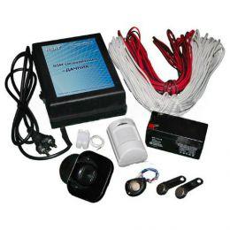 Охранная GSM сигнализация «Дачник Гаражный» с сиреной, датчиком движения и размыкания