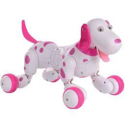 Радиоуправляемая собака-робот «Happy Cow Smart Dog» (розовый)