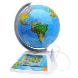 Интерактивный обучающий глобус «Smart Globe Oregon Scientific Adventure 2.0 AR SG268RX»