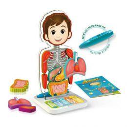 Интерактивная обучающая игра для детей «Занимательная анатомия Oregon Smart Anatomy SA218»