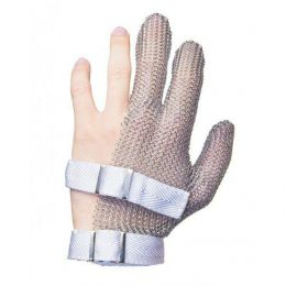 Трехпалая кольчужная перчатка «Мясник 3M»