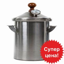 Домашняя коптильня горячего копчения «Дымка Мини КМ-1»