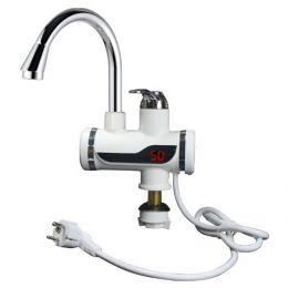 Проточный электрический кран-водонагреватель с дисплеем