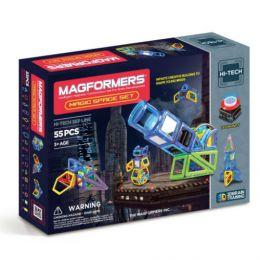 Магнитный светящийся конструктор «Magformers Magic Space 63140/709005»
