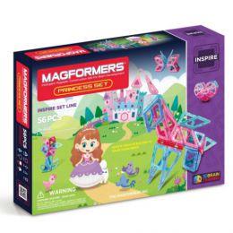 Магнитный конструктор «Magformers Princess Set 63134/704003»