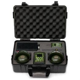 Электронный манок «Hunterhelp PRO 3» с двумя внешними динамиками «Альфа» в кейсе