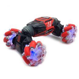 Трюковая машинка-перевертыш «Skidding Car Red» с управлением жестами