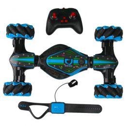 Трюковая машинка-перевертыш «Stunt Car PRO Blue» с управлением жестами