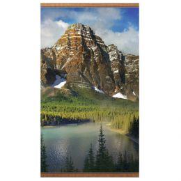 Настенный инфракрасный пленочный обогреватель «Домашний очаг» с картиной гор