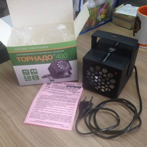 ультразвуковой отпугиватель от грызунов торнадо 400