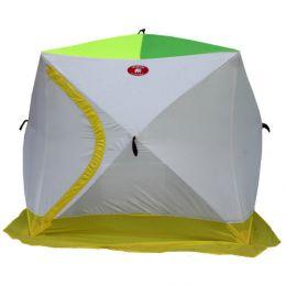 Зимняя 3-х местная палатка «Медведь КУБ-3» (трехслойная)