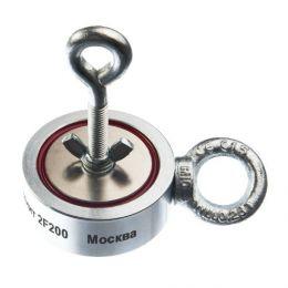 Поисковый неодимовый магнит «НЕПРА 2F200» (двухсторонний)