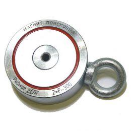 Поисковый неодимовый магнит «Редмаг 2F300» (двухсторонний)