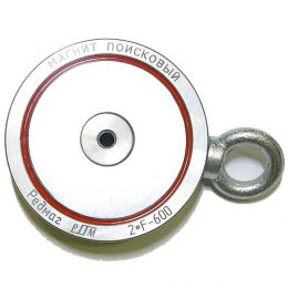 Поисковый неодимовый магнит «Редмаг 2F600» (двухсторонний)