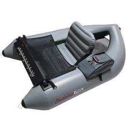 Рыболовный ПВХ плотик «Ондатра А-160» (серый)