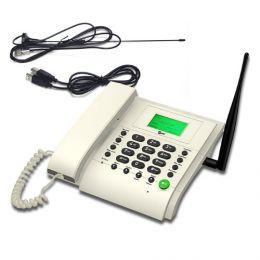 Стационарный сотовый GSM телефон «Dadget MT3020 White»