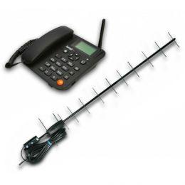 Стационарный сотовый GSM телефон «Termit FixPhone v2» rev 3.1.0 с внешней антенной