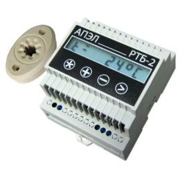 Терморегулятор на ДИН-рейку «РТБ-2Д»