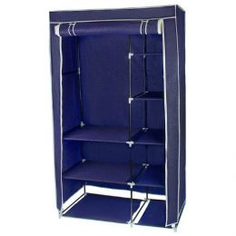 Складной тканевый шкаф «Двухсекционный»