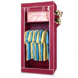 Складной тканевый шкаф «Односекционный»