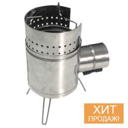 Турбопечка-щепочница «Огонек Плюс» (арт. PS1500Т)