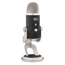 USB-микрофон «Blue Yeti PRO» со стерео, кардиоидной, всенаправленной и двунаправленной записью