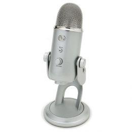 USB-микрофон «Blue Yeti Silver»
