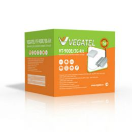 Усилитель сотовой связи и 3G сигнала «Vegatel VT-900E/3G-kit»